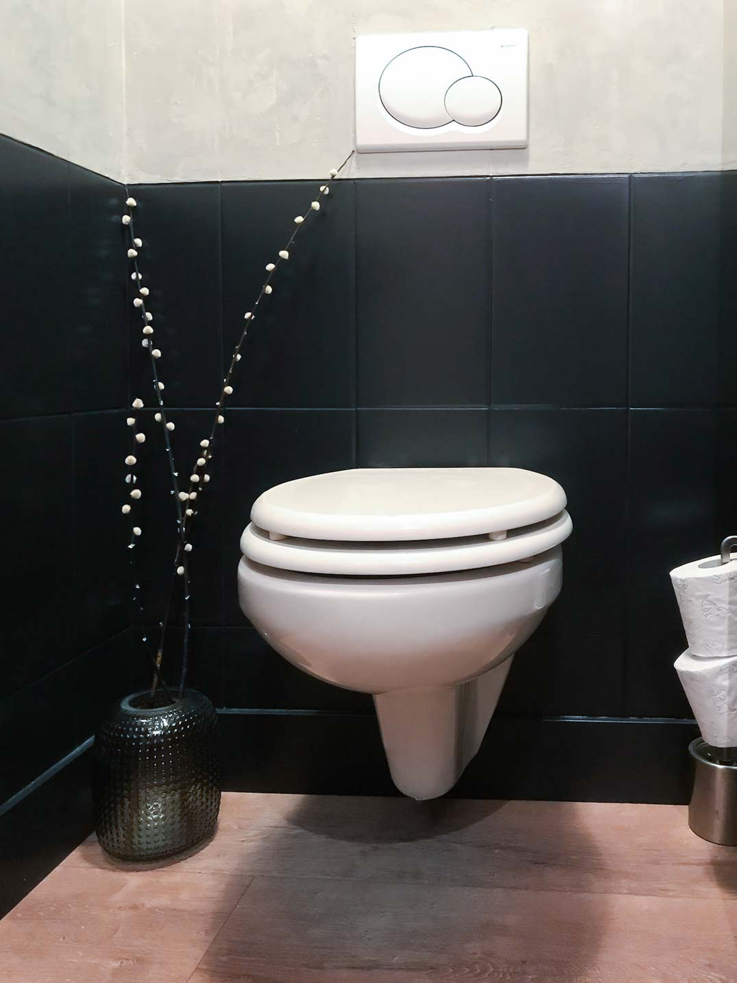 Toilet metamorfose met Marrakech Walls