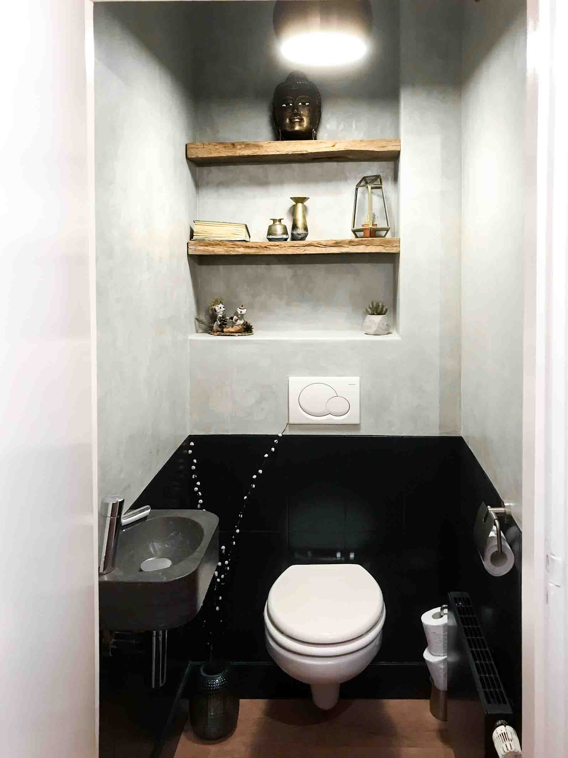 Toilet make-over met Marrakech Walls