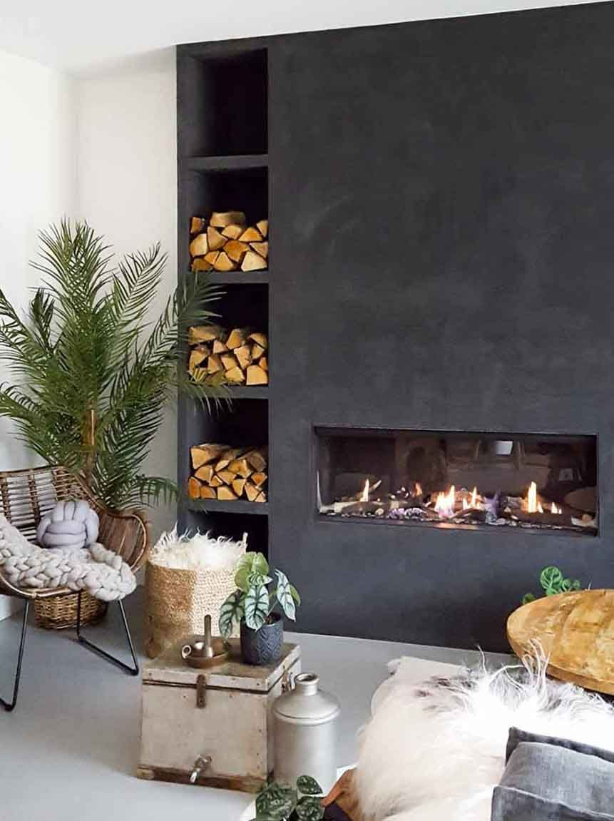 Marrakech Walls op de haart in de kleur Slate Grey