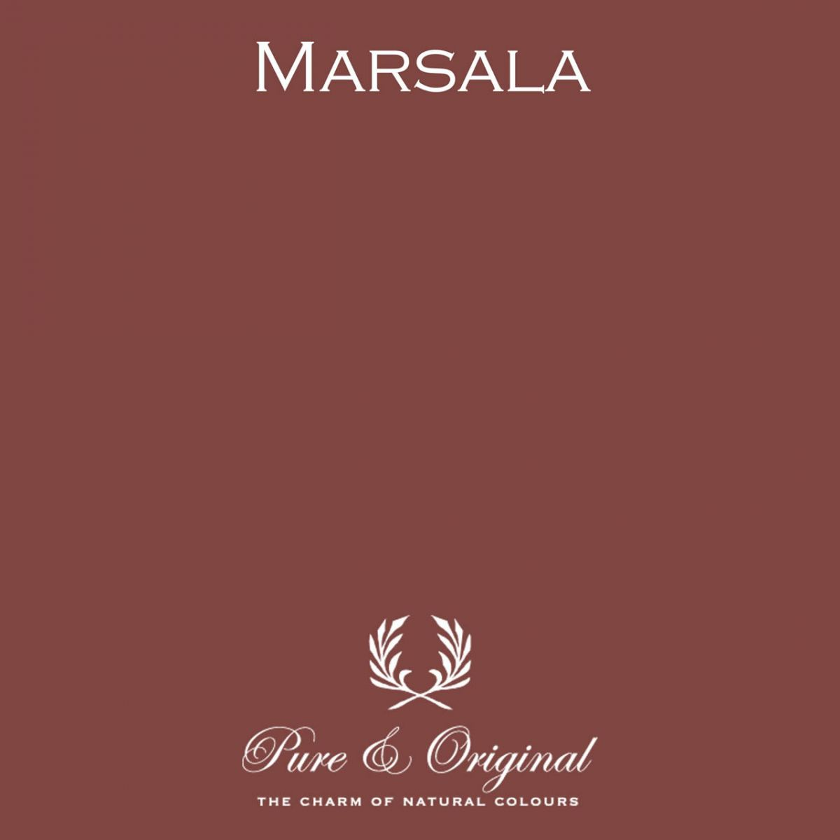 Pure & Original colour Marsala