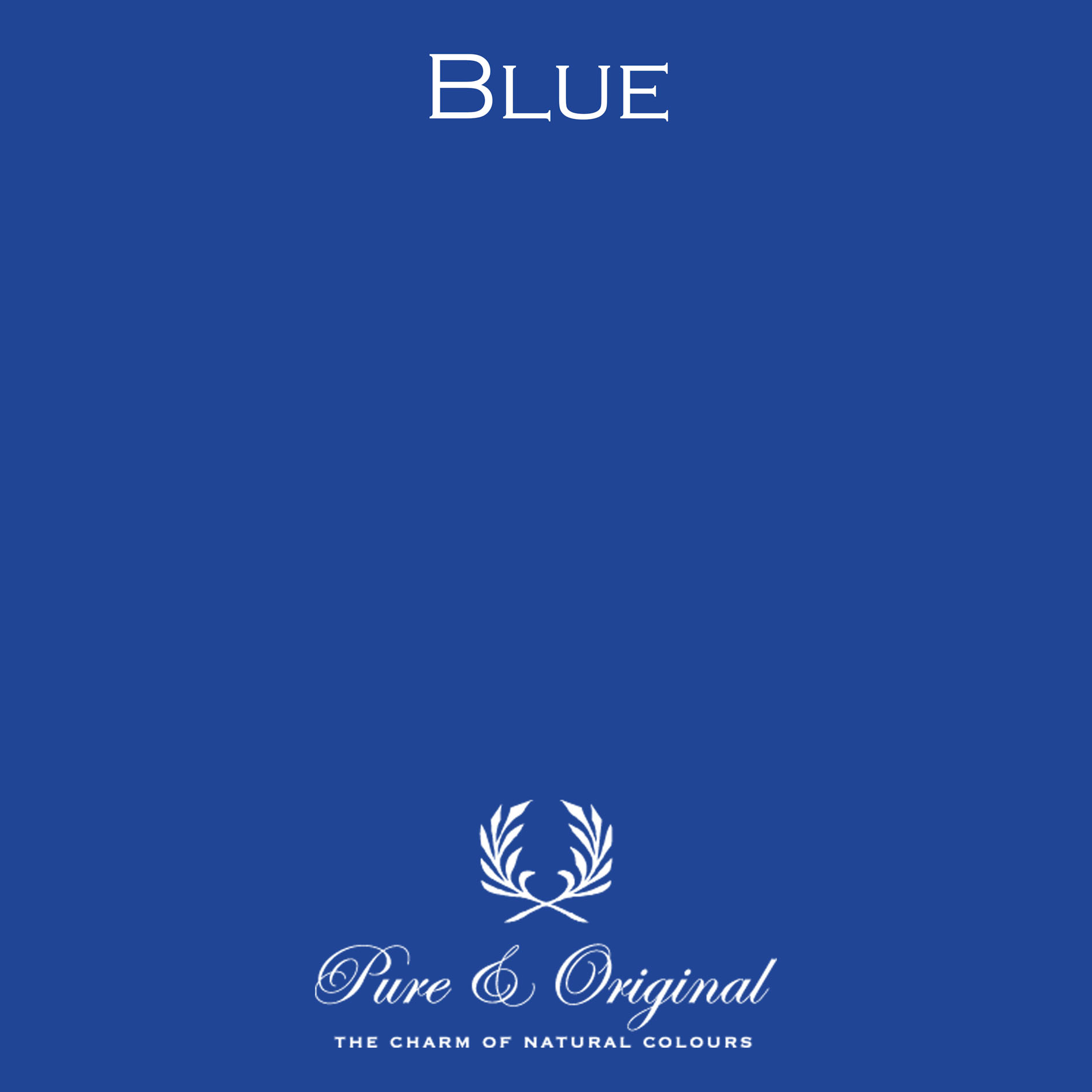 Pure & Original Blue