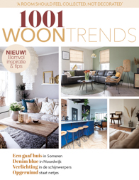 Publication of Pure & Original in 1001 Woontrends magazine Ed3 2021.
