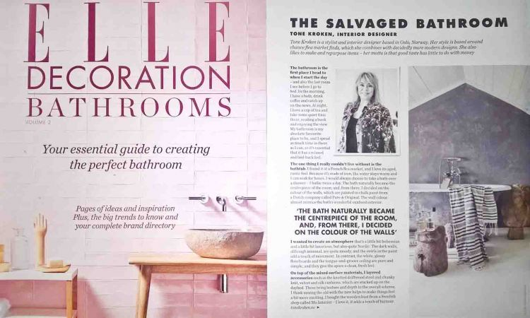 Article ELLE DECORATION UK Bathrooms special ed2 2017
