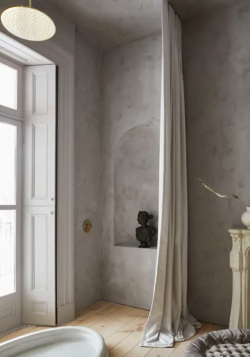 Article HOMIFY Colour the bathroom? Pure & Original offers the perfect inspiration