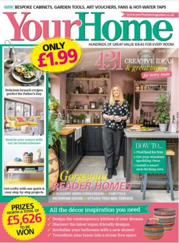 Publicatie in Your Home magazine pure & original juni 2020