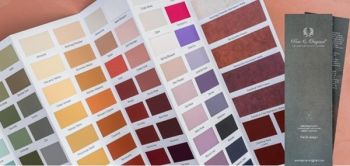 Article Wonen360 New colour brochure Pure & Original contains 170 hand-painted pastilles