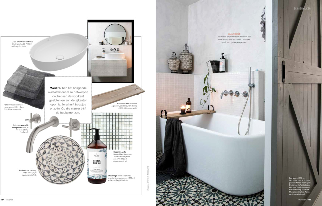 Publication Pure & Original in vtwonen magazine Ed9 2020