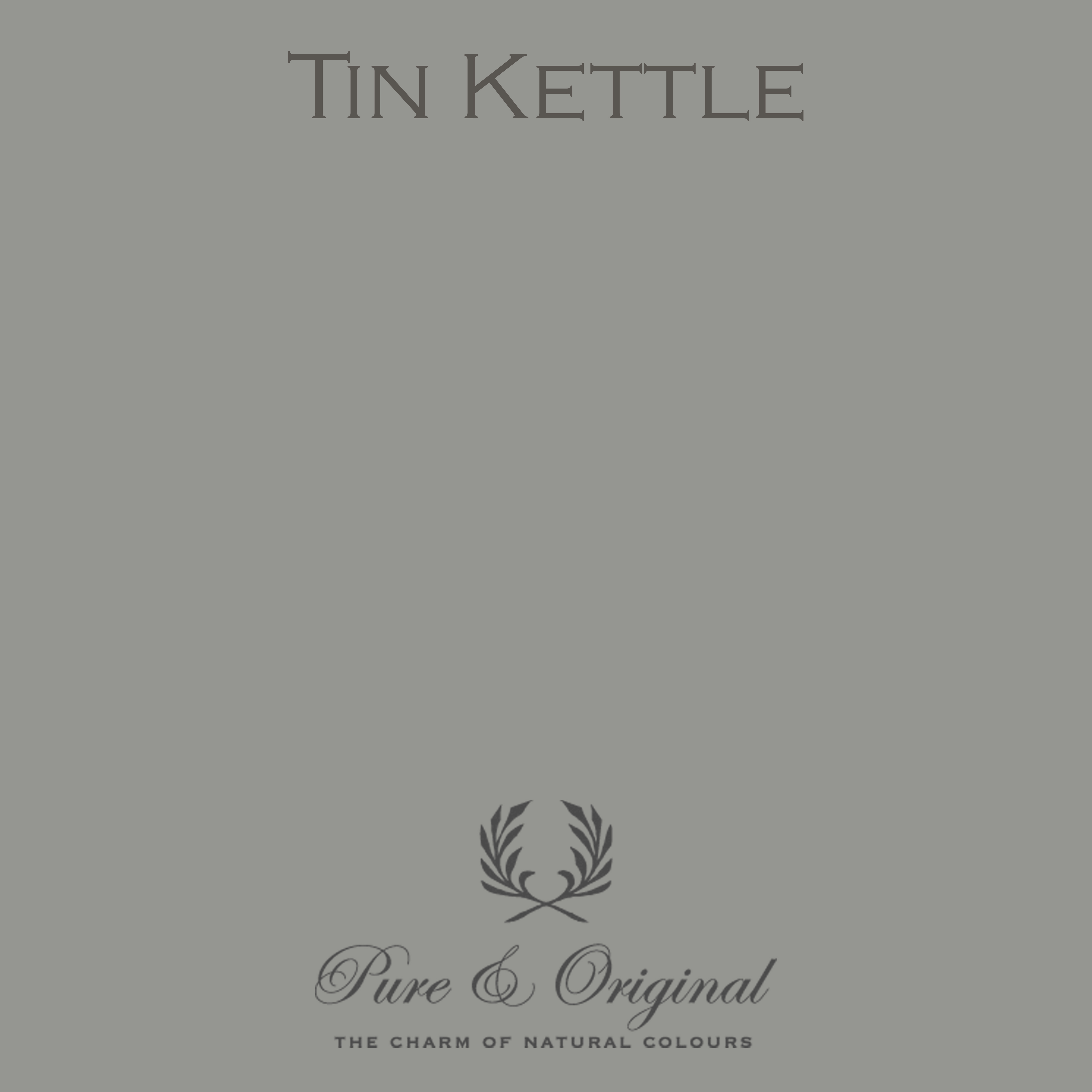 tin kettle pure and original
